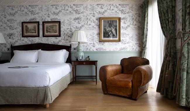Hotel de Toiras - Junior Suite vue Jardin